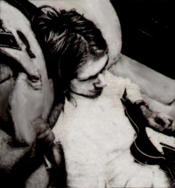 Fotos ineditas Kurt Cobain y nirvana